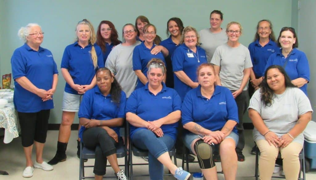Silver Crown Homecare team photo Sep 2018